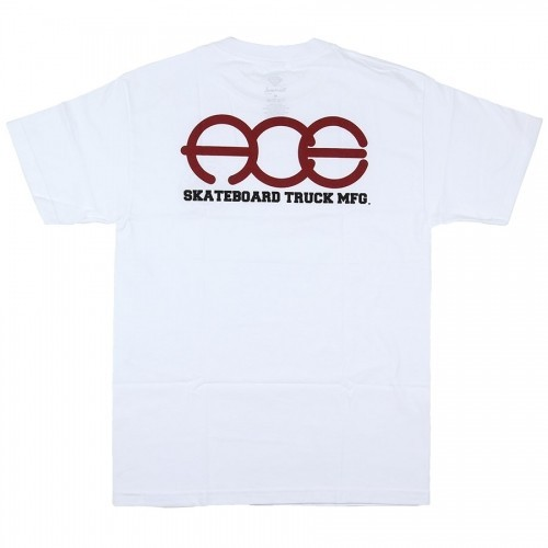 Ace Tee (XL) Round Logo White