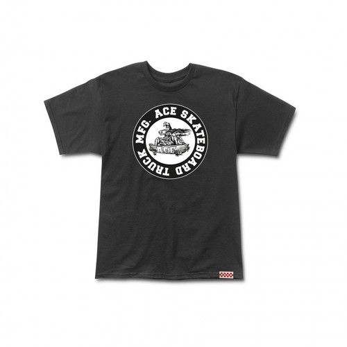 Ace Tee (S) Monster Logo Black