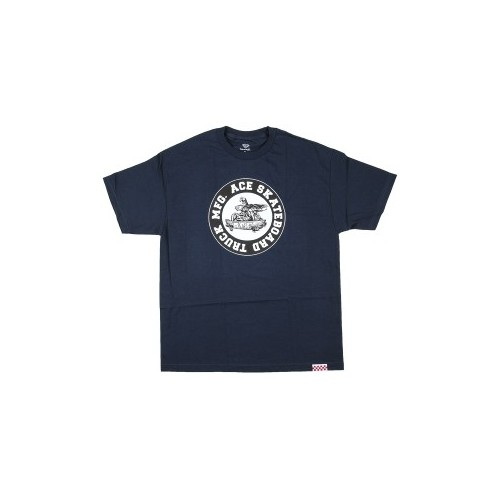 Ace Tee (S) Monster Logo Navy
