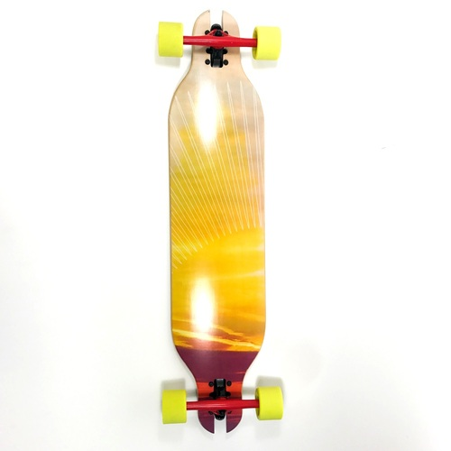 "Ark Complete 38"" Downhill Sunset Dropthrough Cut Longboard"
