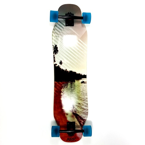"Ark Complete 39"" Downhill Beach Double Kick Longboard"