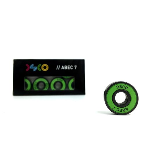 DSCO Bearings Abec 7 with Green Shields