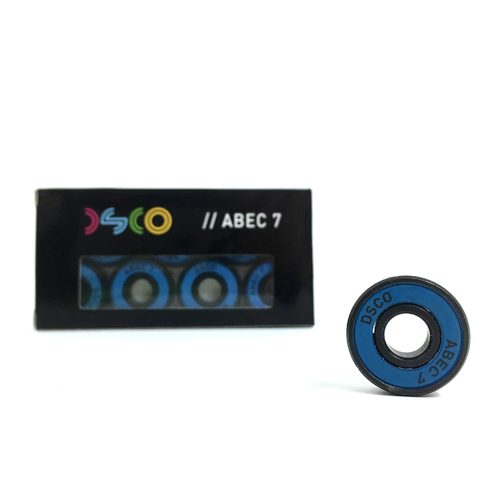 DSCO Bearings Abec 7 with Cyan Shields