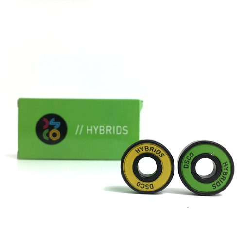 DSCO Bearings Hybrids with Yellow/Green Shields