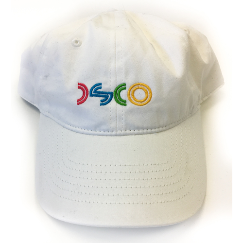 DSCO Hat Stitch White 6 Panel