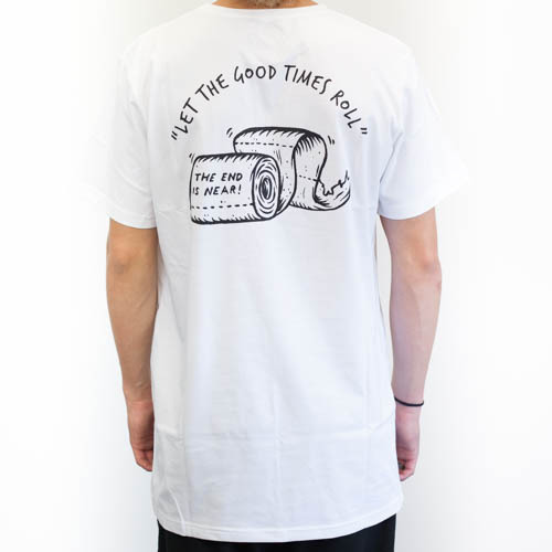 DSCO T-Shirt (L) Toilet Roll White