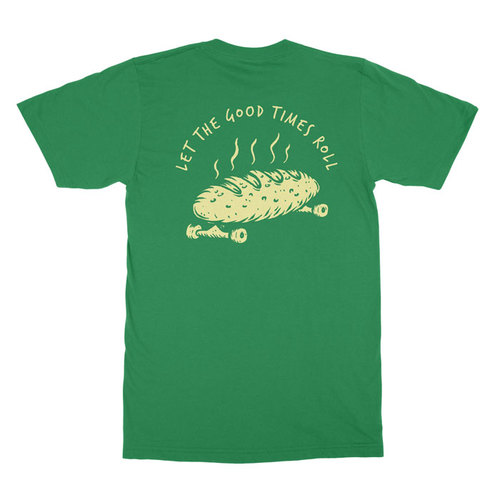 DSCO T-Shirt (S) Bread Roll Green