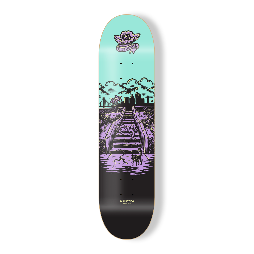 "Eternal Deck 8.5"" Wasteland Street"