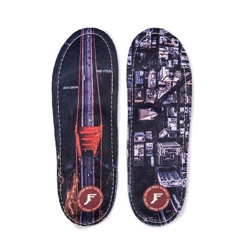 Footprint  Gamechangers Insoles (10/10.5) Van Styles x Curtain