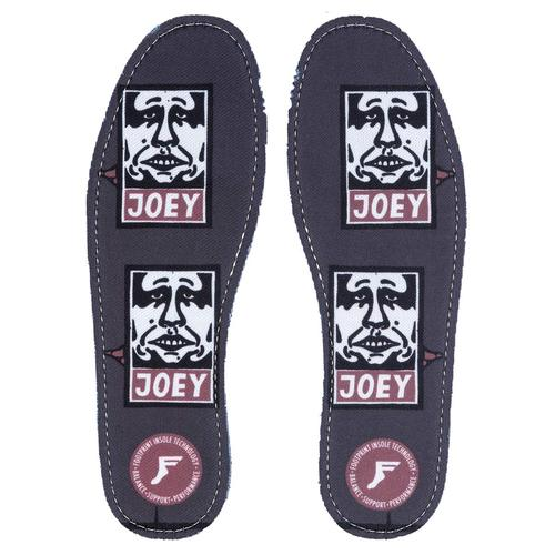 Footprint 5mm Insoles (11/11.5) Joey Street Art