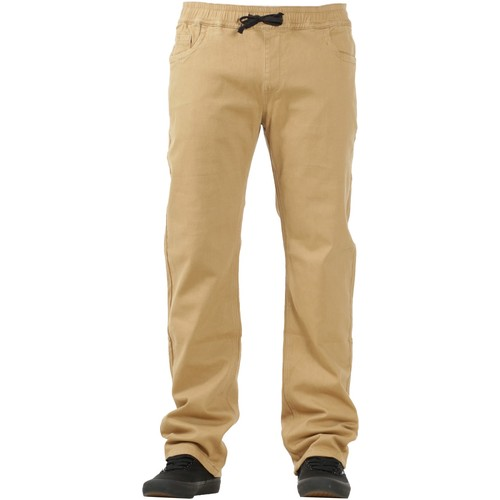 Footprint Sweatpants (32) Chino Khaki
