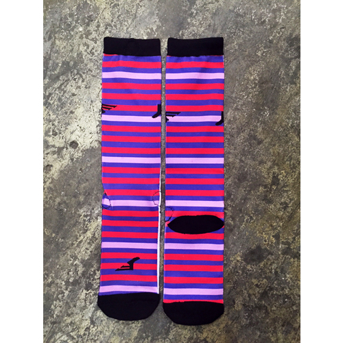 Footprint Socks Stripes