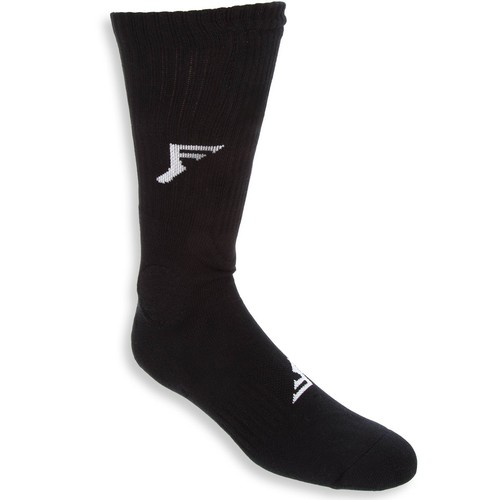 Footprint Socks Black