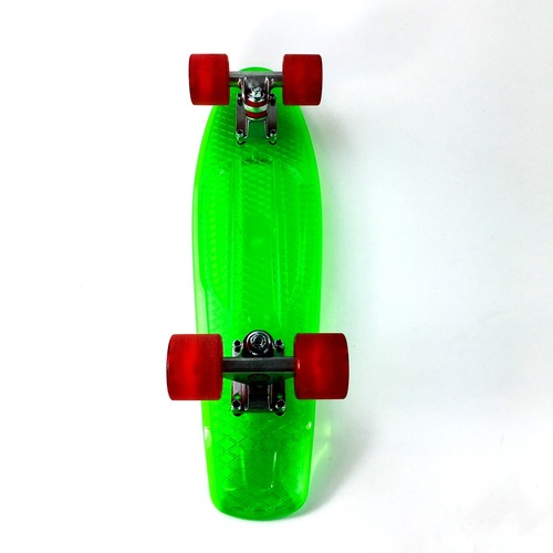 "Grand Gopher Complete 6.0"" Green with LED wheels"