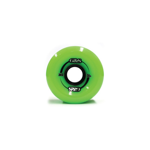 G&S Wheels 70mm (78A) Green