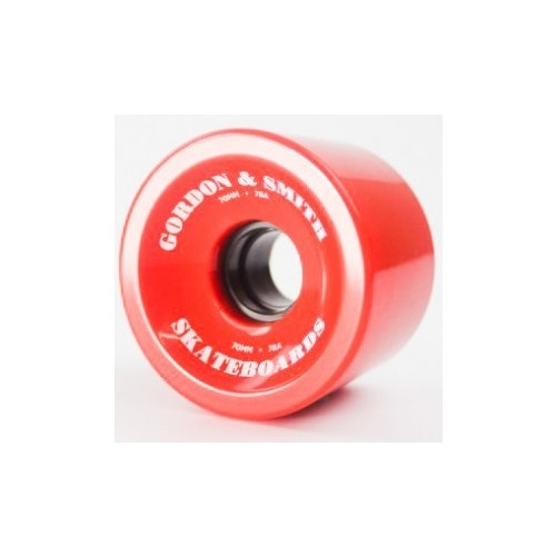 G&S Wheels 70mm (78A) Traditional Red