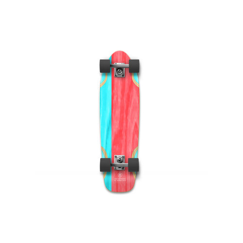 "NANA Complete 26.25"" Lickity Split Red/Cyan"