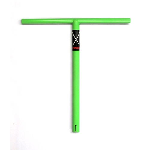 Samurai Bar Green Powder Coat
