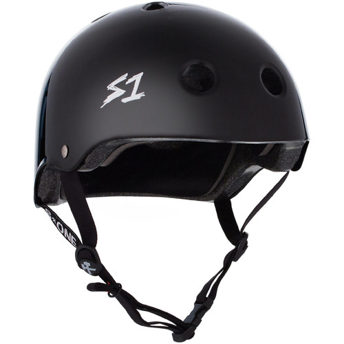 S-One Helmet Lifer (L) Black Gloss