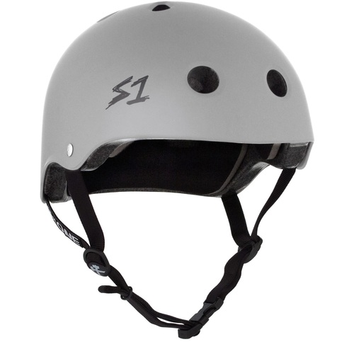S-One Helmet Lifer (M) Grey Matte - AUS/NZ Certified