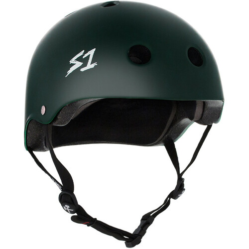 S-One Helmet Lifer (M) Dark Green Matte