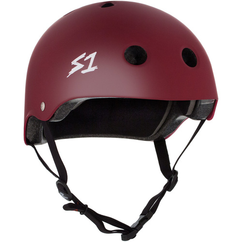 S-One Helmet Lifer (M) Maroon Matte