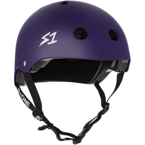 S-One Helmet Lifer (XL) Purple Matte - AUS/NZ Certified