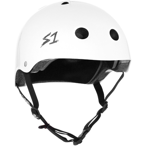 S-One Helmet Lifer (XS) White Gloss - AUS/NZ Certified