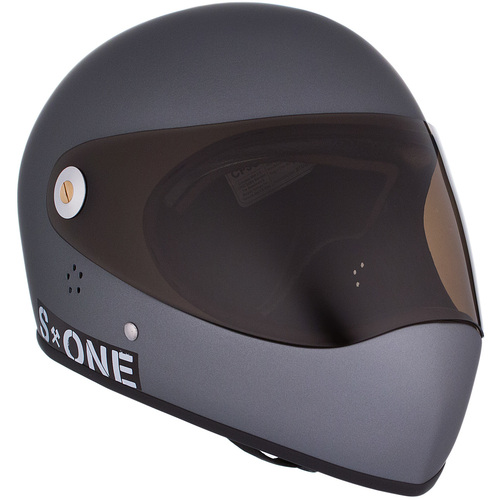 S-One Full Face Helmet Lifer (M) Grey Matte