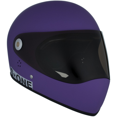 S-One Full Face Helmet Lifer (S) Purple Matte