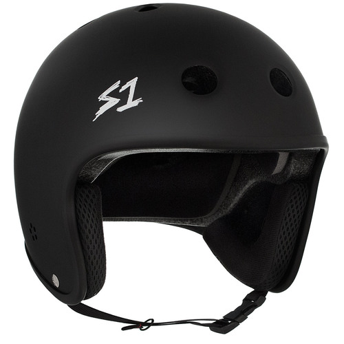 S-One Helmet Retro Lifer (S) Black Matte