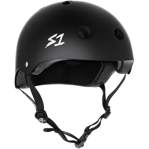 S-One Helmet Mega Lifer (XL) Black Matte - AUS/NZ Certified