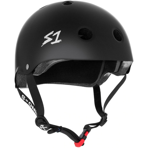S-One Helmet Mini Lifer (L) Black Matte - AUS/NZ Certified