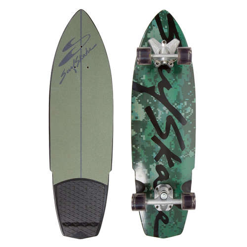 SurfSkate Complete Hybrid Camo SwellTech