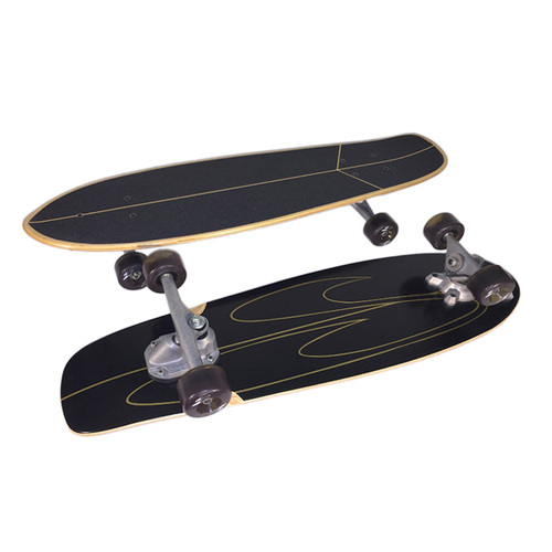 "SurfSkate Complete 32.5"" Bowl Deep End  Swivel V-Truck"