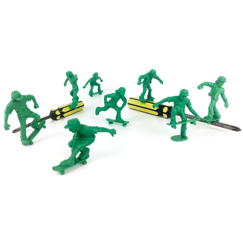 Toyboarders Pro 1 Skate Green (16 Pack)