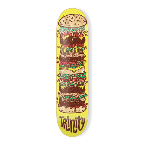 "Trinity Deck 7.25"" Cheeseburger"