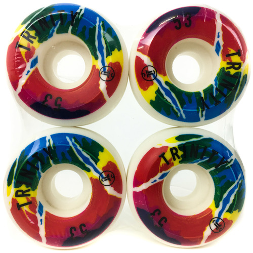 Trinity Wheels 53mm (100a) Tie Dye