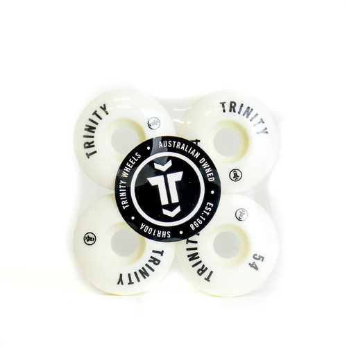 Trinity Wheels 54mm (100a) White Graffiti