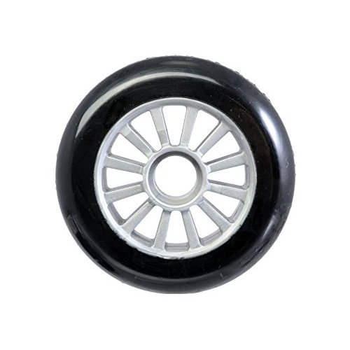 Yak Wheel Low Blk/Silver 100x85a