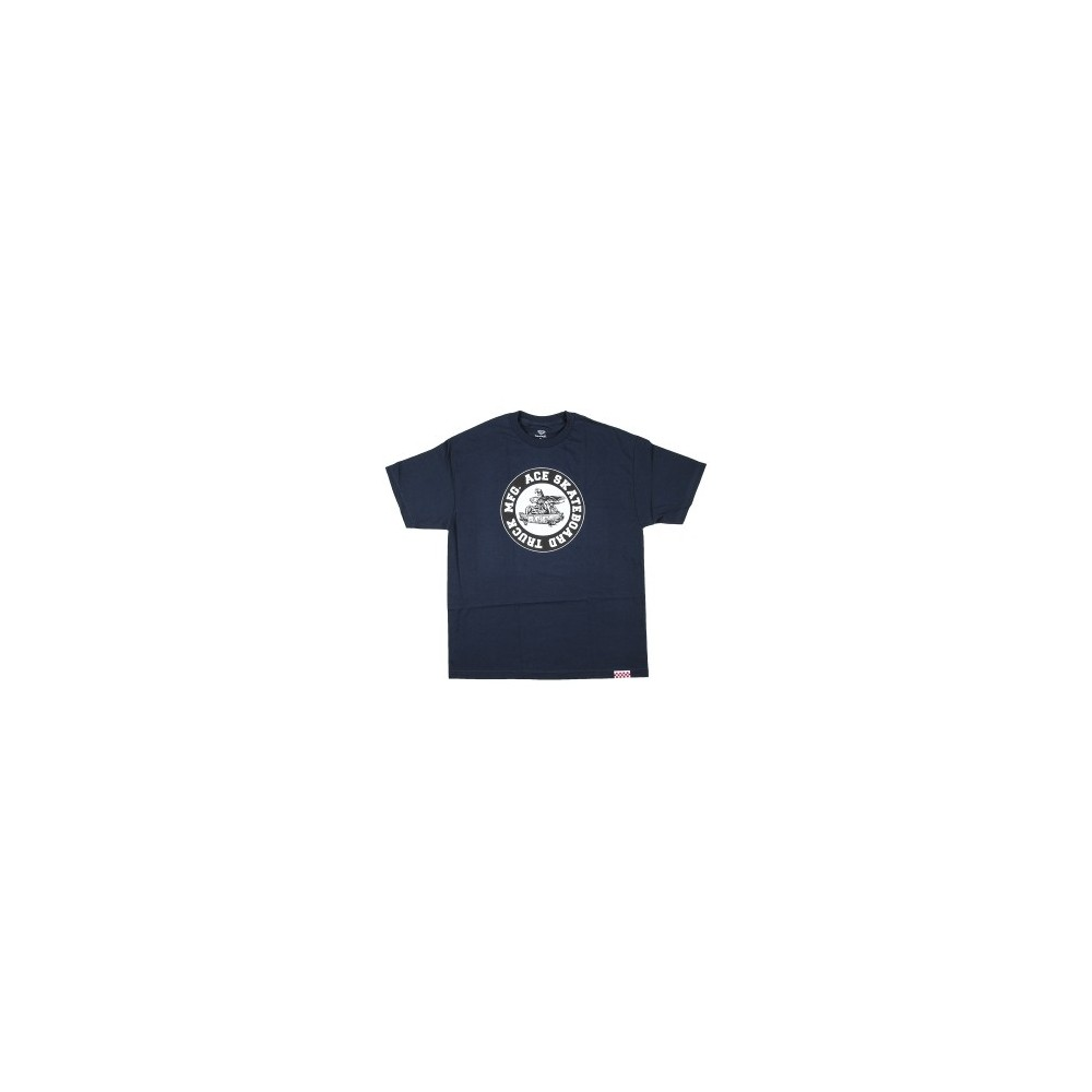 Ace Tee (M) Monster Logo Navy