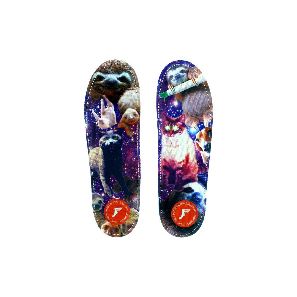 Footprint Orthotic Insoles (10/10.5) Kitty Babe