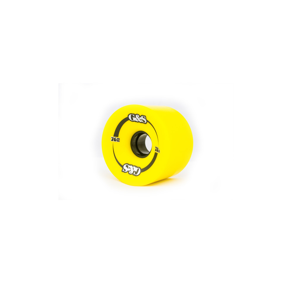 G&S Wheels 76mm (78A) Yellow