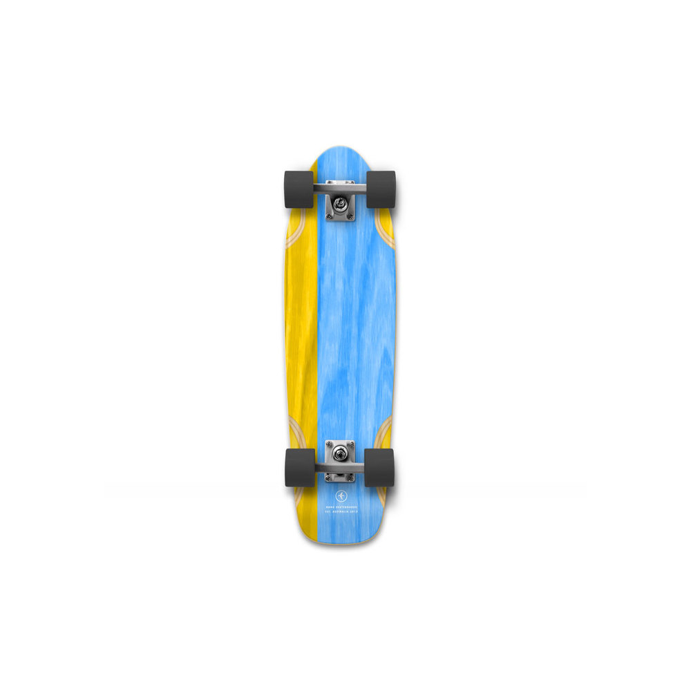 "NANA Complete 26.25"" Lickity Split Blue/Yellow"