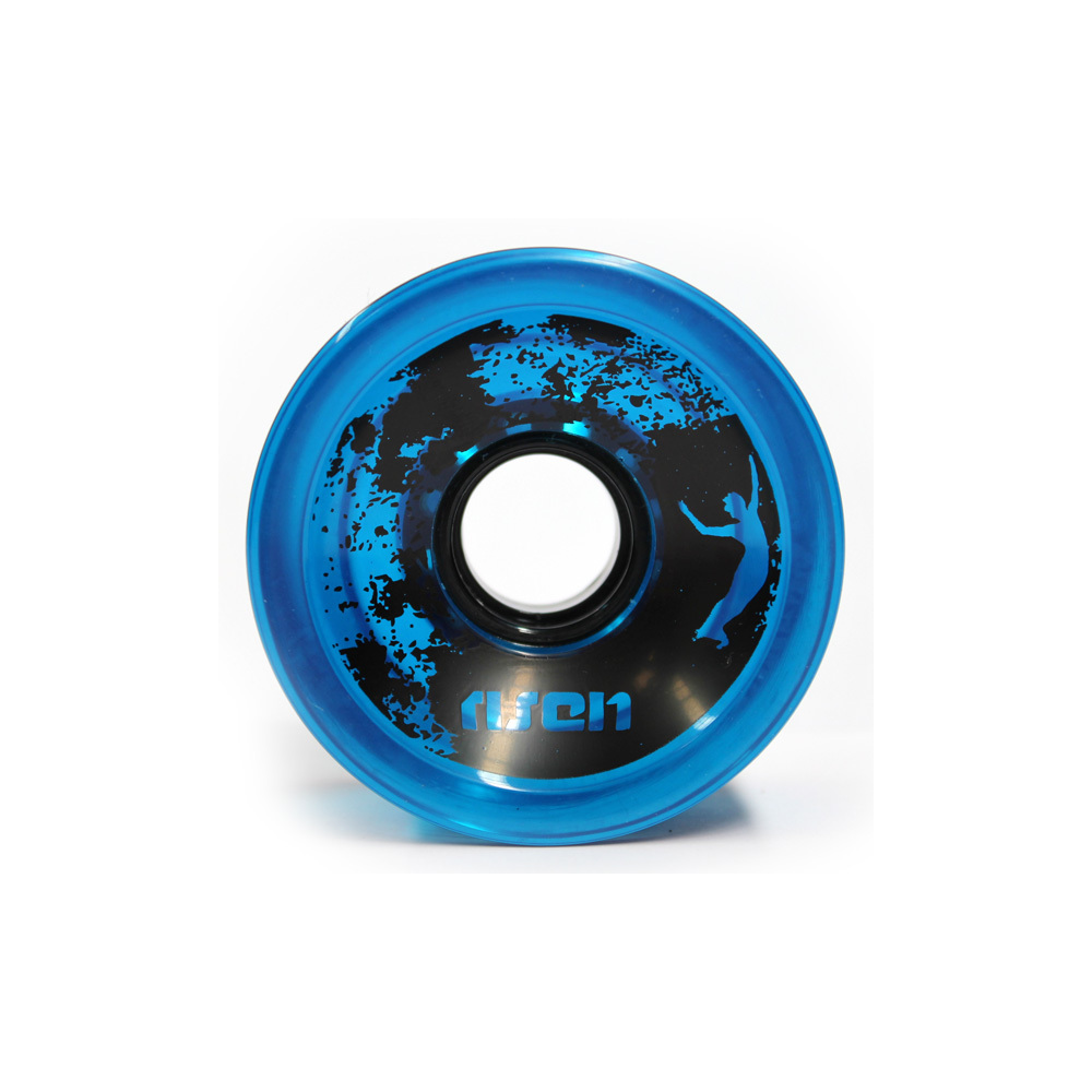 Risen Wheels 70mm (82a) Clear Blue