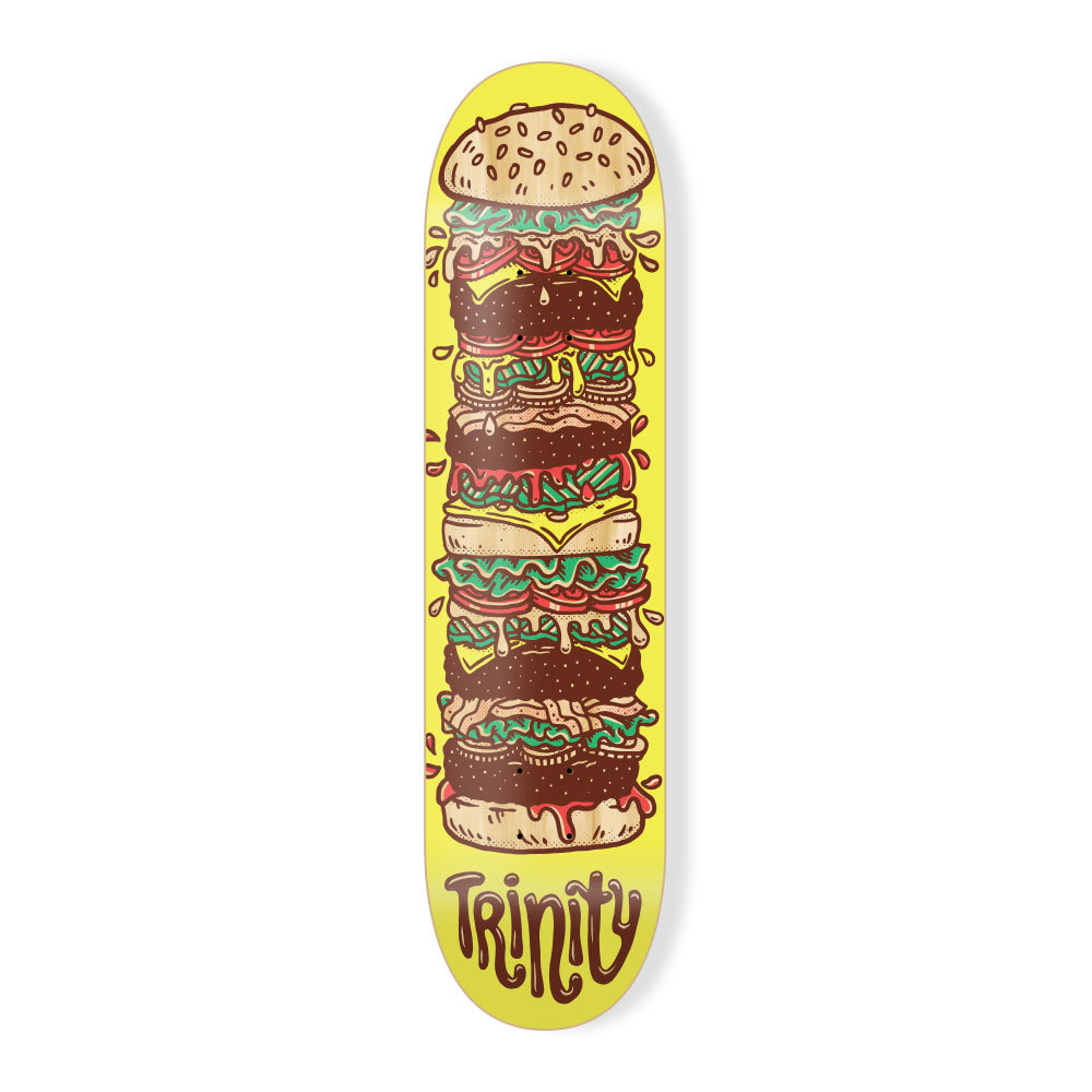 "Trinity Deck 8.0"" Cheeseburger"
