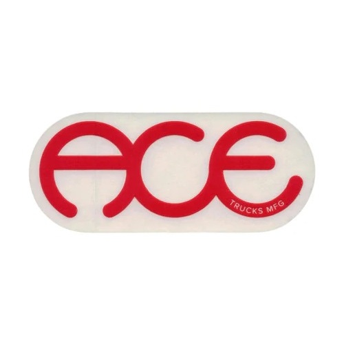"Ace Sticker 6"" Rings Logo"