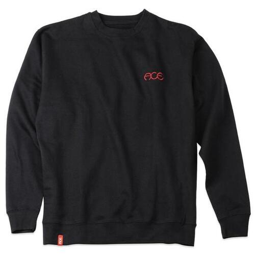 Ace Crewneck Sweatshirt (S) Hutch Black