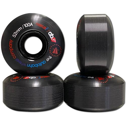 Autobahn Wheels Nexus 52mm 100a Black