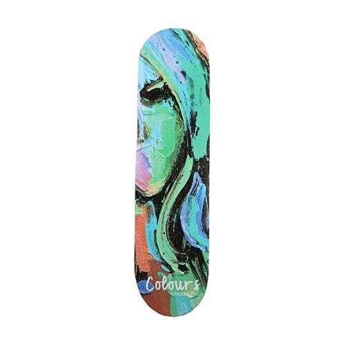 Colours Collectiv Deck Aja Face 8.125""